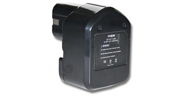 vhbw batería Ni-MH 3300mAh (12V) para herramientas DS 12DM2, DS ...