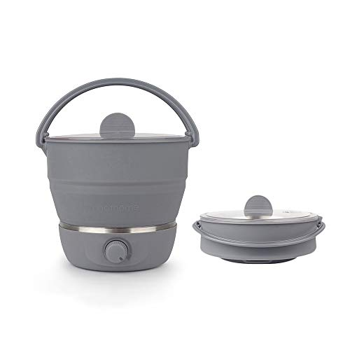 Drizzle Electric Hot Pot Cooker Foldable Travel