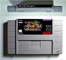 Lost Vikings II 2 - Action Game Cartridge US Version - Game Card For Sega Mega Drive For Genesis
