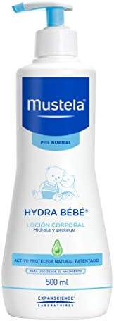 Mustela, Hydra Bebé Loción Hidratante Corporal con Aguacate Orgánico para cuerpo de Bebés y niños, Hidrata y r