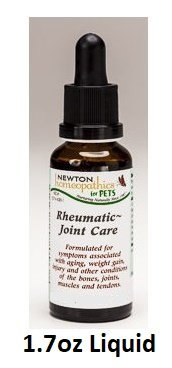 Newton Labs Homeopathics Remedy Pets Rheumatic-Joint Care 1.7oz Liquid