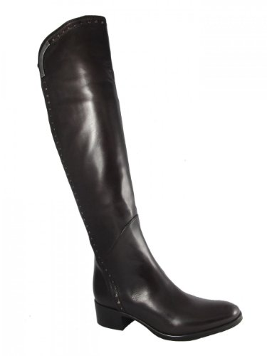Women's Le Pepe 103467 over the knee Flat Boot Black Size 39 by Le Pepe Boots