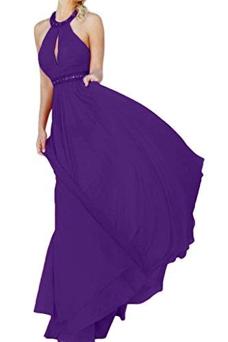 Missdressy - Vestido - Escotado por detrás - para mujer morado 42