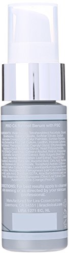 Lira Clinical Pro C4 Retinol Serum with PSC, 2 Ounce