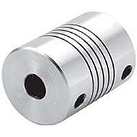Juego de 4 acopladores flexibles para eje de motor CNC OD 19 x 25 mm, 5x8mm