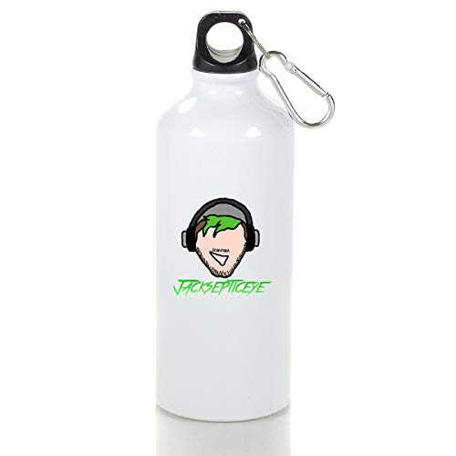 Wenlitee Minimalist Jack Aluminum Outdoor Sports Bottle Mountaineering Kettle White S