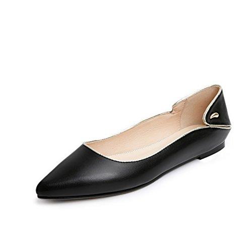 Versión coreana de los zapatos puntiagudos/Zapatos de corte bajo/Zapatos planos/zapatos casuales C