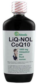LiQ-NOL CoQ10 with Ubiquinol the