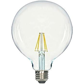 Satco S9565 G40 Led Clear Medium Base Light Bulb 4 5w