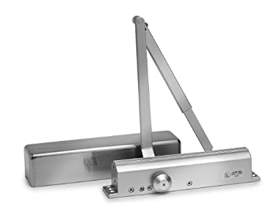 Independence2 i.2-C3016 Powder Coated Aluminum Grade 1 Commercial Grade Door Closer with Adjustable Spring Power, 1-6 Size