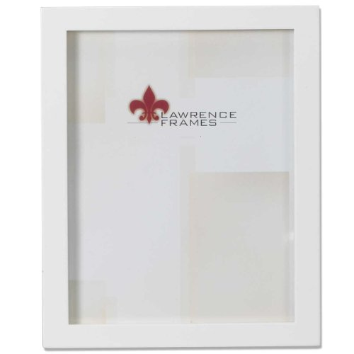 8 x 10 Gallery Picture Frame in Satin White