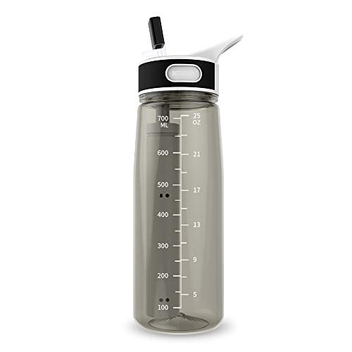 Water Bottle with Filter BOTTLED JOY 25oz BPA Free with