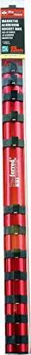 Proferred S49101 Magnetic Aluminum Socket Rail, 3/8'' Drive, 17'' by Proferred