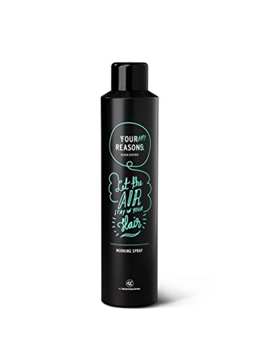 Four Reasons Black Edition Working Spray - Workable Texture