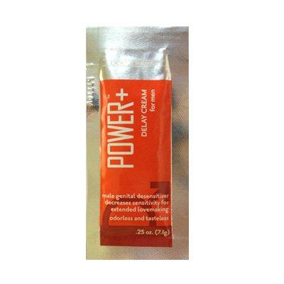 Doc Johnson Power Plus Delay Cream For Men (7g Sachet): Ideal for travelling