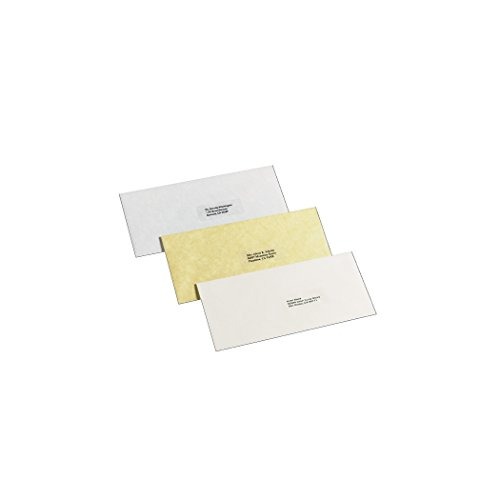 new Avery Clear Easy Peel Address Labels for Laser Printers