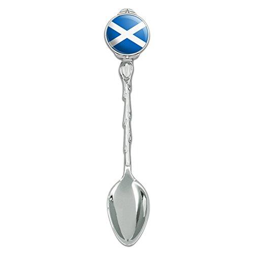 Scotland Scottish Country Flag Novelty Collectible Demitasse Tea Coffee Spoon