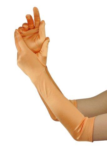 Superbes gants de gala satinés de haute qualité. Longueur 48,3 cm. Produit offert par NYfashion101 21212BL, Mandarin, Taille unique