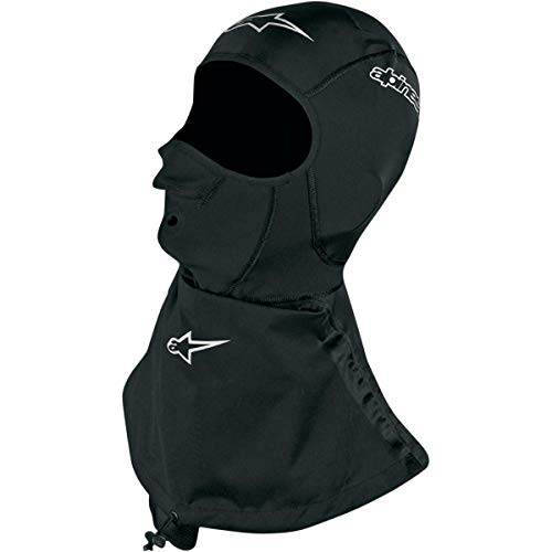 Alpinestars Winter Touring Balaclava , Distinct Name: Black, Size: OSFM, Gender: Mens/Unisex, Primary Color: Black -