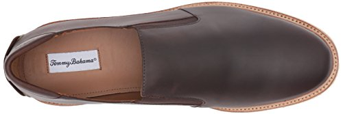 Tommy Mens Bahama Bahama Mens Loafer Tommy Dark Loafer Brown Dark Brown Linen Linen Tommy f4ZqwRn