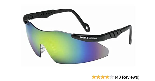 6612f617f2 Amazon.com  Jackson 3011824 Smith   Wesson Magnum Safety Glasses Gold  Metallic Mirror Lens