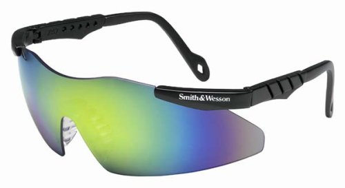 Jackson 3011824  Smith & Wesson Magnum Safety Glasses Gold Metallic Mirror Lens, 1 Pair by Smith &  Wesson