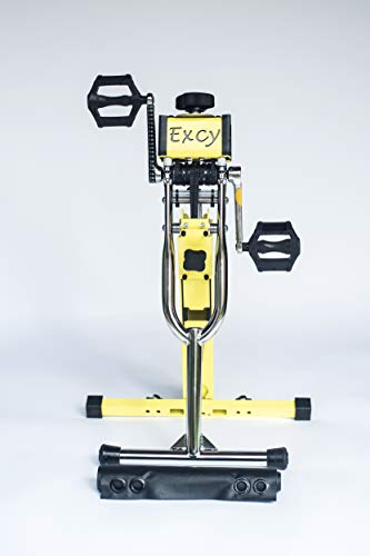 Excy XCS 260 Portable Recumbent Exercise Bike + Upper Body Ergometer + Resistance Rower + Bed Cycle and More! One Portable System, Endless Full-Body Opportunities!