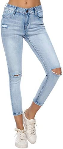 Resfeber Womens Ripped Stretch Distressed product image