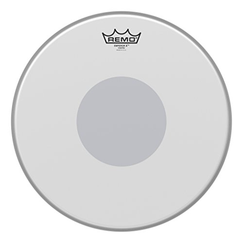 Remo Emperor X Coated Snare Drum Head - 14 Inch (Best Snare Drum Head For Rock)