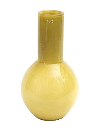 Amazonde Dutz Collection Mery Mustard Deko Glas Vase