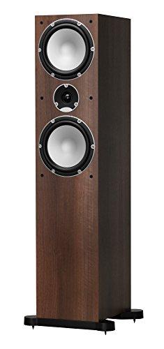 TANNOY Mercury 7.4 Floorstanding Speaker (Walnut, Single Speaker)