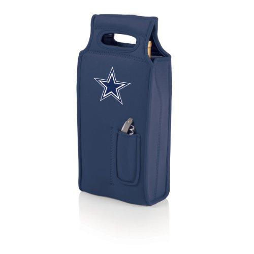 NFL Dallas Cowboys Samba 2-Bottle Neoprene Wine Tote Bag