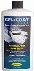 Gel Coat Labs Premium Gel Boat Wash 16oz for RV
