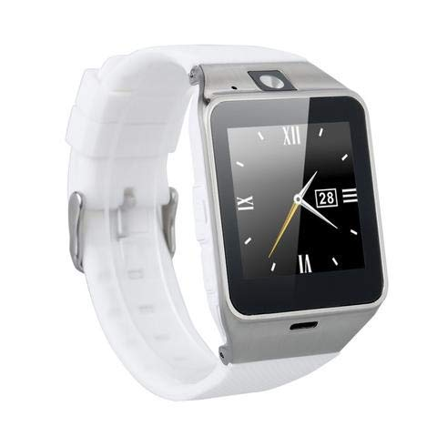 Amazingforless GT08 Bluetooth Touch Screen Smart Wrist Watch Phone with Camera - Gold