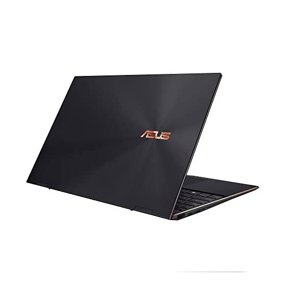 ASUS ZenBook Flip S OLED, Intel Evo Core i7-1165G7 11th Gen, 13.3-inch UHD Touch Thin and Light 2-in-1 Laptop (16GB/1TB SSD/Windows 10/Office 2019/Iris X Graphics/Jade Black/1.2 kg), UX371EA-HL701TS