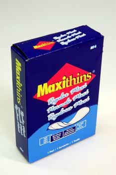 Maxithins Pad (case of 250) - Folded Maxithins Pads