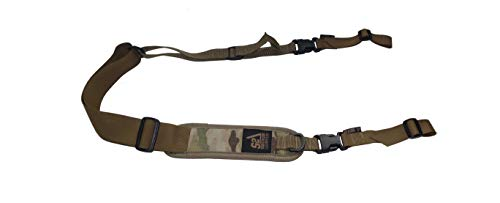 S2Delta - USA Made Premium 2 Point Rifle Sling, Fast Adjustment, Modular Attachment Connections, Comfortable 2