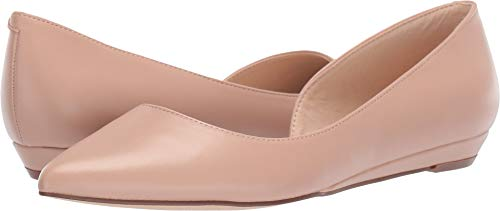 Nine West Women's Saige Barely Nude 9 M US (Woman Shoes Flat Nine West)