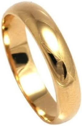 Jewellery Gold Filled 5mm Wide Wedding Band Outstanding Quality Ah