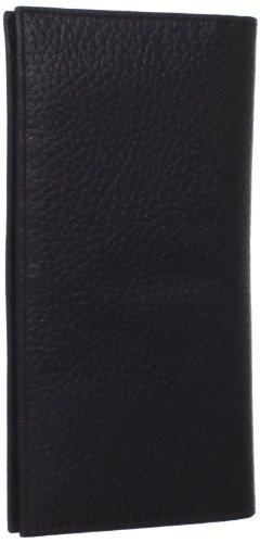 John Deere Men's Historical Logo Cheque Book Holder, Black, One Size