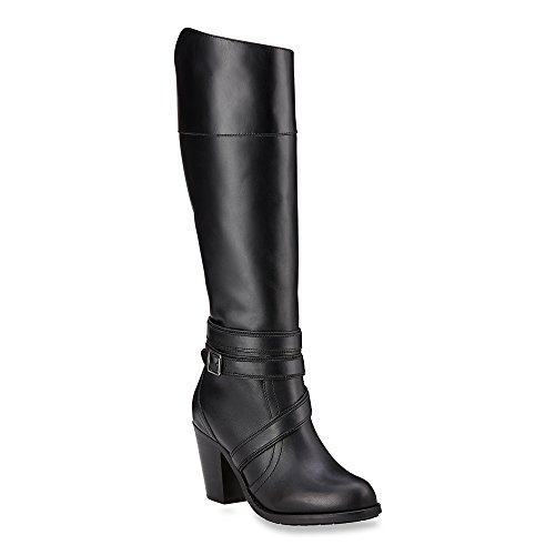 Ariat Women's High Society Boot,Iconic Black Leather,US 5...