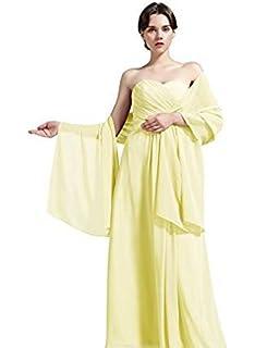 BEAUTELICATE Chal Estola Mujer de Gasa para Fiesta Novia Boda 28 Colores