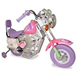 New Star Muscle Motorbike with Training Wheels in Pink