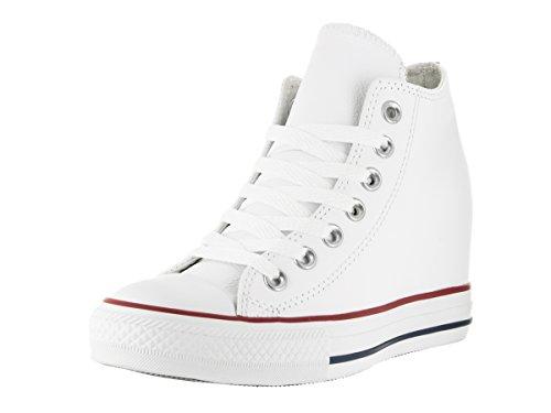 All Star Hi Leather Unisex White