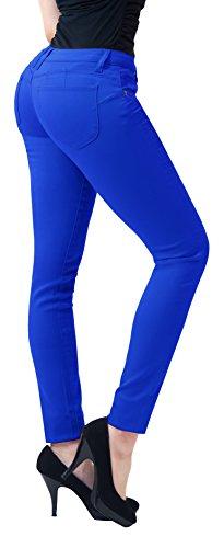 women color skinny jeans - 9