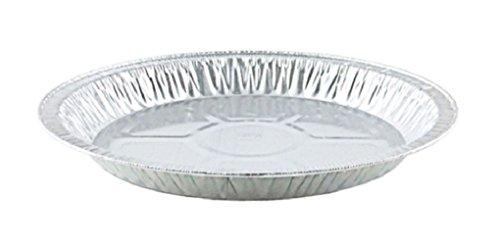 95/8 inch Medium Aluminum Pie Pan Disposable Tin Plates # 4010