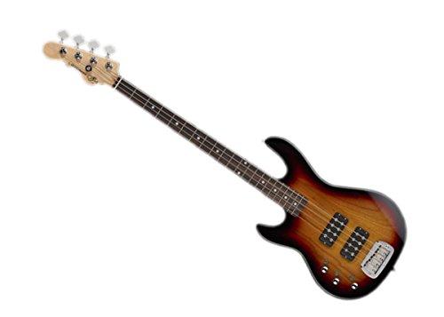 G&L Tribute Series L-2000 'Lefty' Bass Guitar - 3-Tone Sunburst/Brazilian Cherry - TI-L20-120L20R00