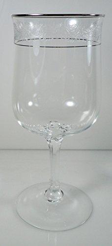 Lenox Moonspun Platinum Water Goblet