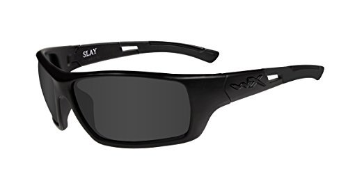 Wiley X Slay, Smoke Grey, Matte - Sunglasses Ops Black