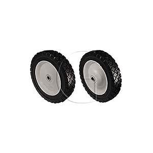 Rueda para cortacésped universal 178 mm de diámetro: Amazon ...